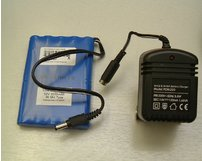Rechargeable Battery Pack (blue) 12V and Mains Charger
