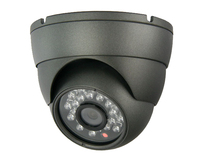 Dome Camera IR Vandalproof 3.6mm [Dk Grey or White] RF2623/4 **OFFER**