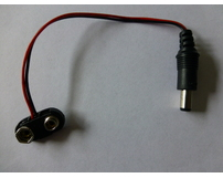 9V PP3 Battery Clip with 2.1mm Connector